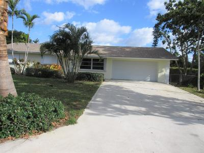 Lake Worth Single Family Home For Sale: 3592 Marlin Street