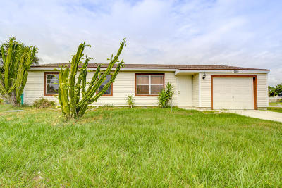 Port Saint Lucie FL Single Family Home For Sale: $169,888