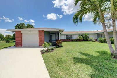 Delray Beach Single Family Home For Sale: 6038 Via Silvanus #A