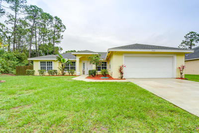 Port Saint Lucie Single Family Home Contingent: 1562 SW Latshaw Avenue