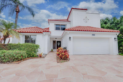 West Palm Beach Single Family Home For Sale: 13150 Touchstone Place