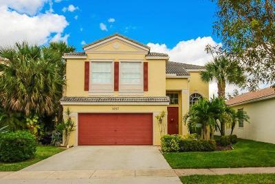 Wellington Single Family Home For Sale: 9757 Scribner Lane