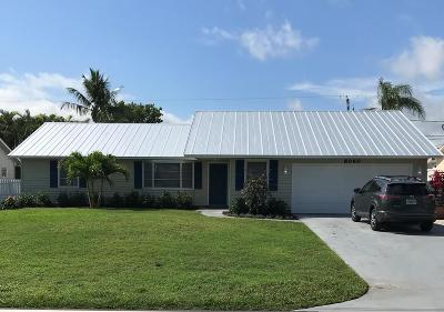 Hobe Sound Single Family Home Contingent: 8060 SE Crossrip Street