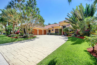 Boca Raton Single Family Home For Sale: 910 Parkside Circle