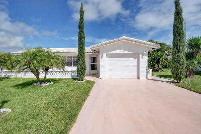 Boynton Beach Single Family Home For Sale: 1503 SW 20th Street