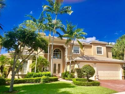 Lake Worth Single Family Home For Sale: 9885 Via Bernini