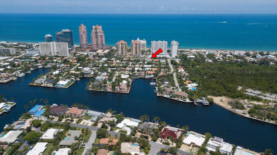 Broward County Residential Lots & Land For Sale: 1923 NE 33rd Avenue #1-2