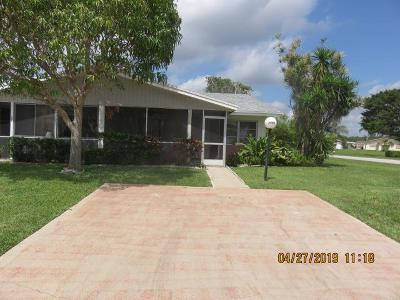 West Palm Beach Single Family Home For Sale: 3483 Christopher Street