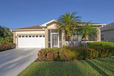 Port Saint Lucie Single Family Home For Sale: 1039 NW Tuscany Drive
