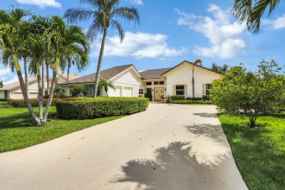 Palm Beach Gardens Single Family Home Contingent: 4 Balfour Road