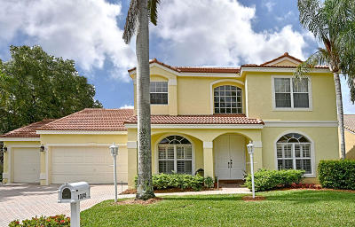 Palm Beach Gardens Single Family Home For Sale: 10245 Allamanda Circle