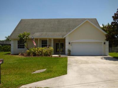 Fort Pierce Single Family Home For Sale: 5300 Suson Lane