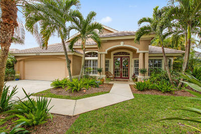 Hobe Sound Single Family Home Contingent: 5525 SE Forest Glade Trail