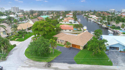 Delray Beach Single Family Home For Sale: 2701 Boone Drive