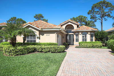 Port Saint Lucie Single Family Home For Sale: 8327 Muirfield Way