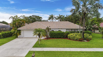 Boca Raton Single Family Home For Sale: 18650 Anchor Drive
