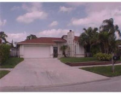 West Palm Beach Single Family Home For Sale: 6295 Fairgreen Road