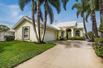West Palm Beach Single Family Home For Sale: 1405 Bear Island Drive