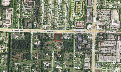 Palm Beach Gardens Residential Lots & Land For Sale: 4670 Northlake Boulevard