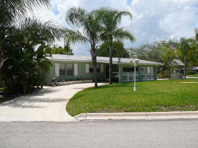 Fort Pierce Single Family Home For Sale: 1001 Bermuda Avenue