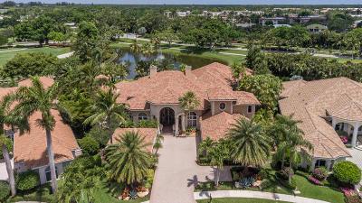 Palm Beach Gardens FL Single Family Home For Sale: $3,250,000