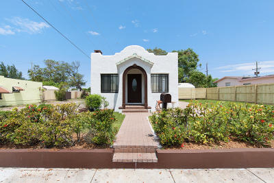 Lake Worth Single Family Home For Sale: 532 F Street