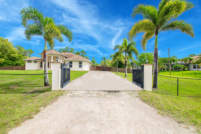 Loxahatchee Single Family Home For Sale