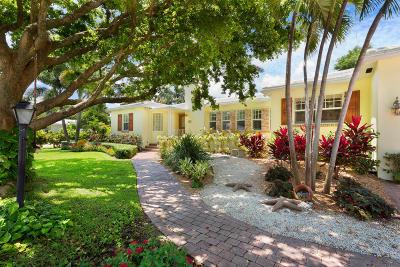 Delray Beach Single Family Home For Sale: 1112 S Vista Del Mar Drive