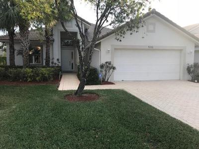 West Palm Beach Single Family Home For Sale: 9056 Bay Harbour Circle
