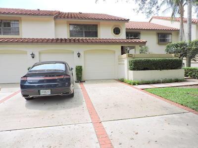 Boca Raton Single Family Home For Sale: 7746 La Mirada Drive