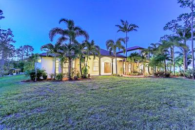 West Palm Beach Single Family Home For Sale: 13167 Orange Boulevard