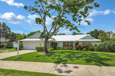 Palm Beach Gardens Single Family Home For Sale: 2710 W Hope Lane