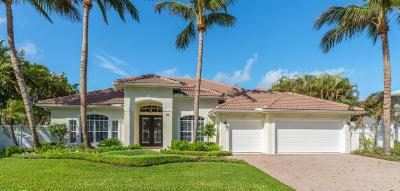Jupiter Inlet Colony Single Family Home For Sale: 148 Beacon Lane