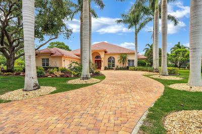 Port Saint Lucie Single Family Home For Sale: 9670 Landings Drive