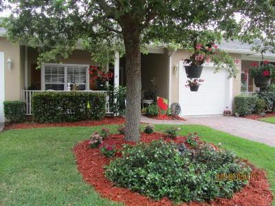 Port Saint Lucie Single Family Home For Sale: 641 NE Bent Paddle Lane