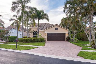 Boca Raton Single Family Home For Sale: 17042 Newport Club Drive