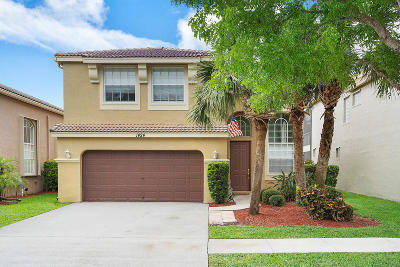 Royal Palm Beach Single Family Home For Sale: 1424 Briar Oak Drive