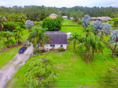 Loxahatchee Single Family Home For Sale: 16856 93rd Road