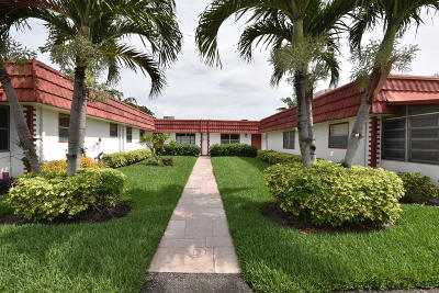 Delray Beach Single Family Home Contingent: 79 Waterford D