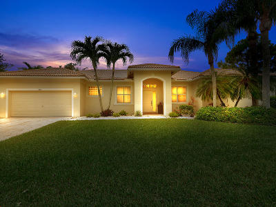 West Palm Beach Single Family Home For Sale: 8866 San Andros