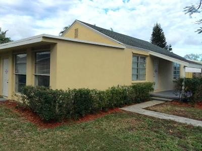 Lake Worth Single Family Home For Sale: 4429 Sussex Avenue