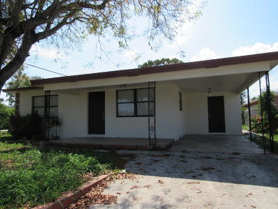Lake Worth Single Family Home For Sale: 831 S F Street
