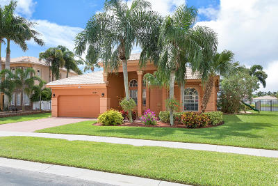 Lake Worth Single Family Home For Sale: 6543 Marbletree Lane