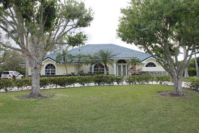 Palm Beach Gardens Single Family Home For Sale: 8281 Man O War Road