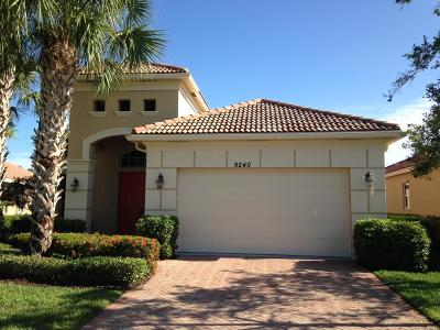 Port Saint Lucie Single Family Home For Sale: 9240 Short Chip Circle