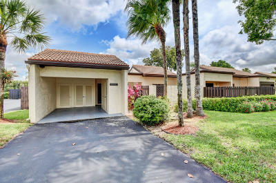 Boca Raton Single Family Home For Sale: 21754 Cypress Drive Drive #19a