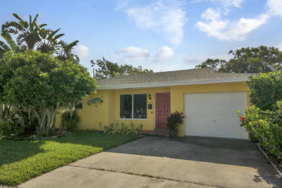 Lake Worth Single Family Home For Sale: 1608 M Street