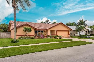 Boca Raton Single Family Home For Sale: 23369 Lago Mar Circle