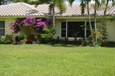 Delray Beach Single Family Home For Sale: 3725 Sherwood Boulevard