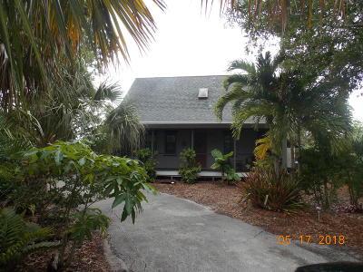 Fort Pierce Single Family Home For Sale: 5102 Sunset Boulevard
